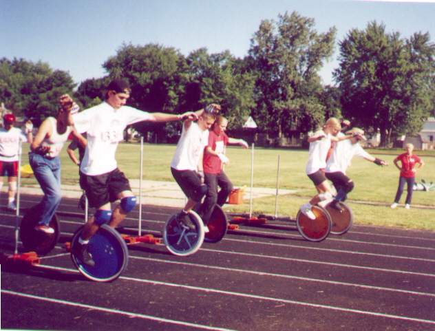 The Ultimate Wheel race!